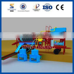 SINOLINKING Best Ability Portable Mini Gold Trommel with Patent