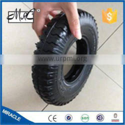 CHINA hot pneumatic small 4 wheels wagon tyre rubber wheelbarrow tire 2.80/2.50-4