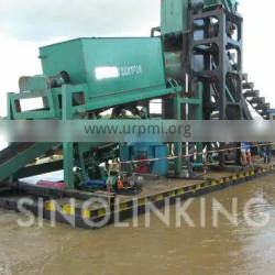 SINOLINKING Diamond and Gold Mining Dredger