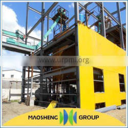 latest technics 200TPD maize oil extracting mill