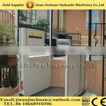 3.5m outdoor wheelchair lift for the disabled people/products for disabled people