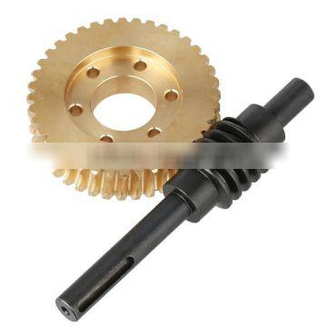 Specical plastic worm and and worm gear widely used