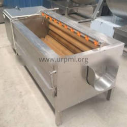 4 Kw/380v Potato Cleaning Machine Stainless Steel