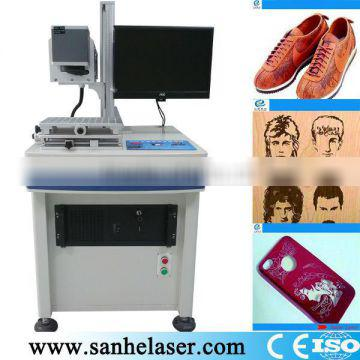 Factory Direct 3HE-30w laser engraving machine for buttons,plastic laser marking machine,laser engraving machine eastern