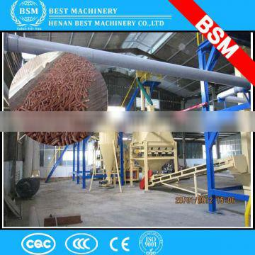 2015 New technology wood sawdust pellet making machine production line
