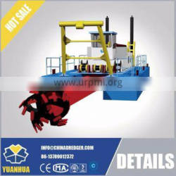 hydraulic system cutter head sand dredger and river sand pump dredger