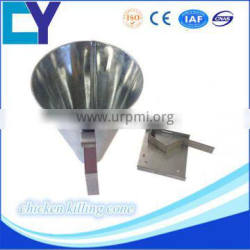 2016 New design stainless steel chicken killing machine and poultry killing cone