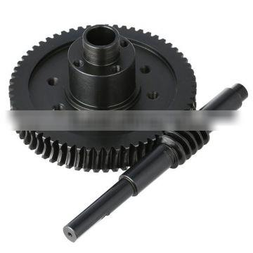 Worm and worm gear for reducer