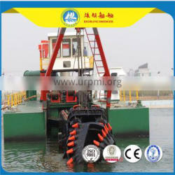 HL 250 hydraulic high rated cutter sand suction dredger,dredger ship for sale