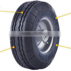 solid rubber cart wheel 2.50-4