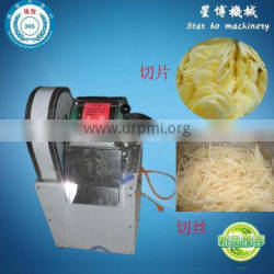 Stainless steel electric potato cutter slicer machine