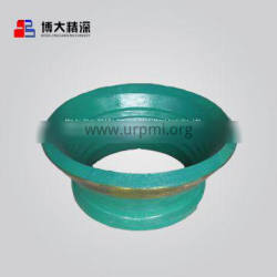 Highly Precision crusher mantle bowl liner apply to Nordberg cone crusher spare parts