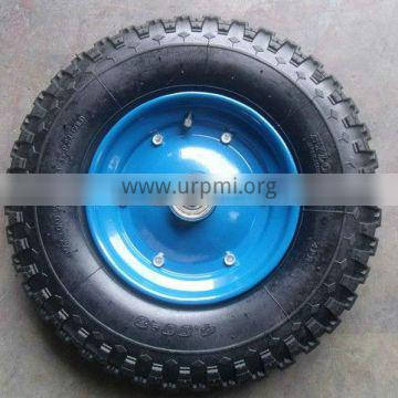 13 inch pneumatic rubber wheel 3.00-8 for hand trolley