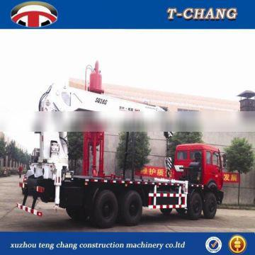 hot sale 16 tons small telescopic boom boat lifting crane SQ16SA4 made in china