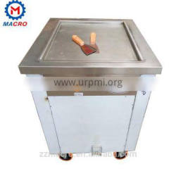 Commercial High Quality Cheap Price Fired Ice Cream Machine Quick Cooling System Fired Ice Cream Machine For Sale