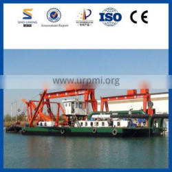 Simple Diesel Power Sand Suction Ship with Cutter Head