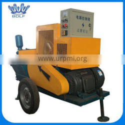 plunger type mortar spraying machine