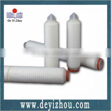 Polyethersulfone Pleated Membrane Filter element