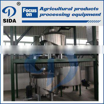 Sida stainless steel machine starch production from maize