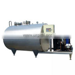 agitator mixing refrigerator 1000lfor sale for transport raw receiving storage container milk cooling tank