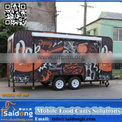 Modern and luxury new CE approved food trailer Manufacturers/food cart Manufacturers/food van Manufacturers