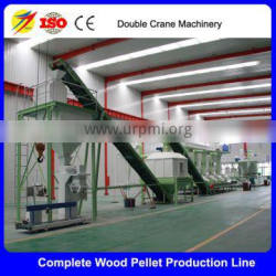 Turn-key Project Wood Pellet Manufacturing Plant/Biomass Wood Pellet Production Line