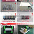 Professional best quality durable A3 / A4 size UV led digital flatbed printer with DX5 head