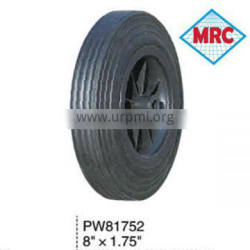 PW81752 toy car solid rubber wheel 8x1.75 High Quality