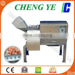 Electric frozen chicken and pork chopping machine to cubes, DRD450 Frozen Meat Dicer