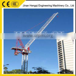 High efficiency Shandong automation famous export max load luffing tower crane