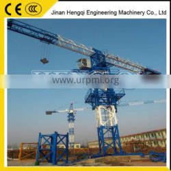 4 tons Flat top tower crane for sale