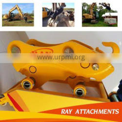 Connect with the earth auger and excavator hydraulic excavator quick hitch/coupler/linker