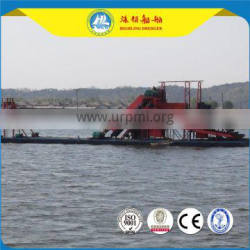 bucket chain gold mining dredger hot sale China