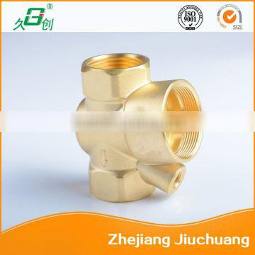 Machinery accessories copper cut-off valve body