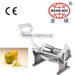 2015 new design very popular manual potato chips slicer and wedger machine