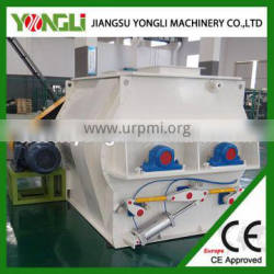 high mixing homogeneity double shafts paddle mixer with high drying efficiency