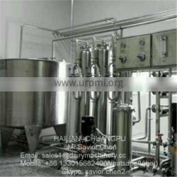 Milk Pasteurizing And Packing Line Milk Pasteurizer 1000L