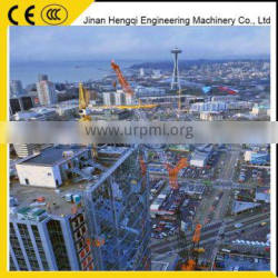 Chinese supplier of luffing jib tower crane