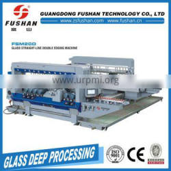 China Made glass double edging and polishing machine with cheap price