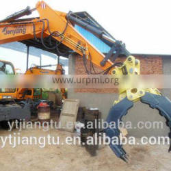 jt-08 stone grapple for 23 tons excavator made in china cheap and good quality