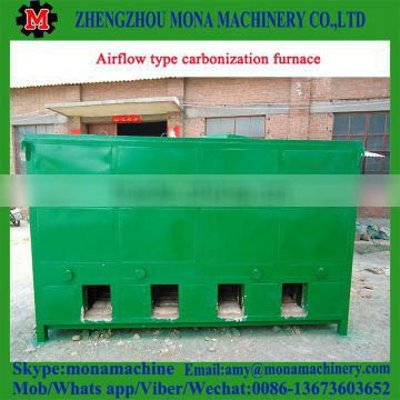 new arrived home-used wood log carbonization furnace with best price