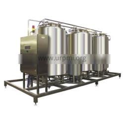 Auto Transfer Cip Cleaning Machine Water / Acid Cip Cleaning System