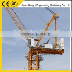 2016 Luffing L65 C4 moving tower crane price by HENGQI in China