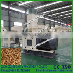 The ideal of 0.8 - 4 ton per hour vertical ring die straw pellet mill / hay pellet mill