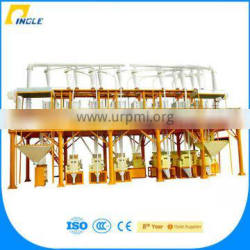 Pingle 5-500T/24H flour mill maize milling plant Machinery