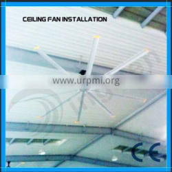 DINGBEN Good quality large industrial forced ceiling tubular ventilation fan