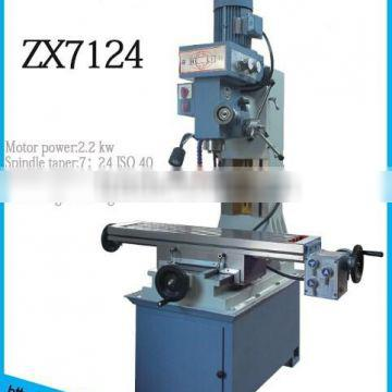 Small Milling and Drilling Machine ZX7124