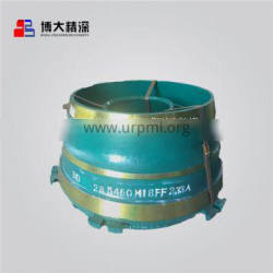 Crusher Wear Parts Concave & Mantle For Metso GP300 Crusher