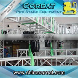 Aluminum 380V 500kg stage truss electric chain hoist for sale.