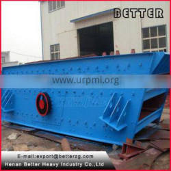 Better particle silica sand sieving machine